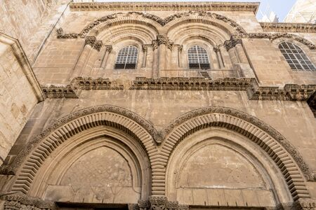 israel jerusalem: The famous Church of the Resurrection in Jerusalem. Israel Stock Photo