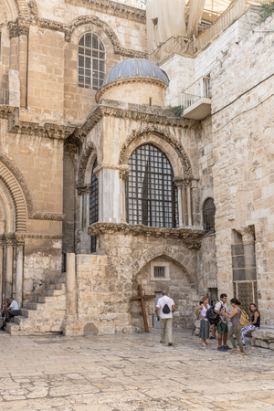 The famous Church of the Resurrection in Jerusalem. Israel Editorial