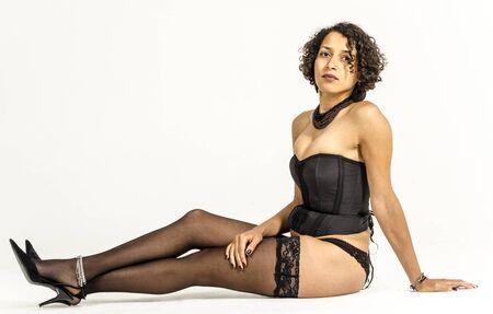 Black Women In Stockings