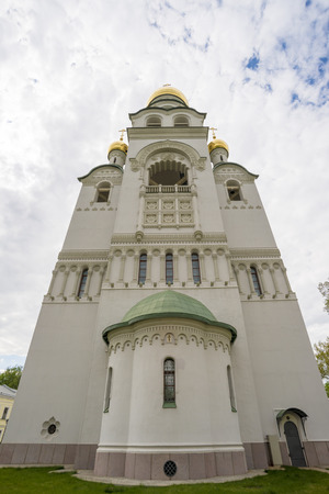 Russian Orthodox bell tower in Moscow