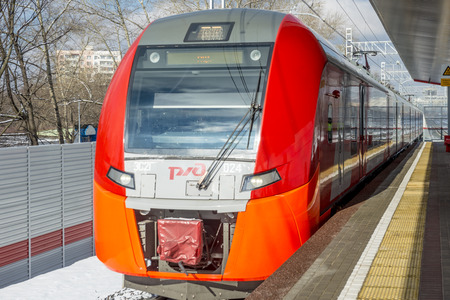 Modern Russian Railways Stations and passenger trains Editorial