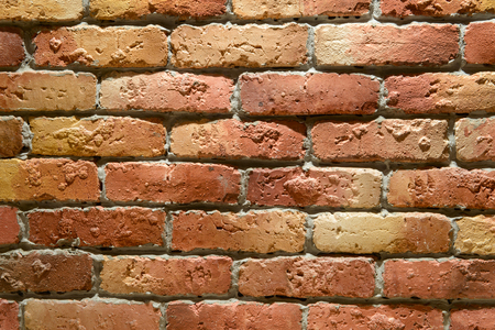 building feature: Brick wall for backgrounds. Stock Photo