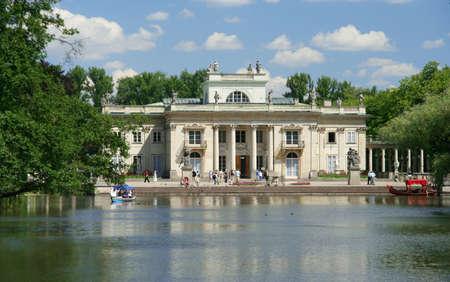 Palace On Water, Warsaw, Poland