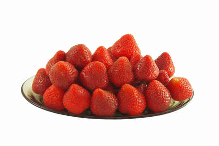 Delicious, fresh strawberries. photo
