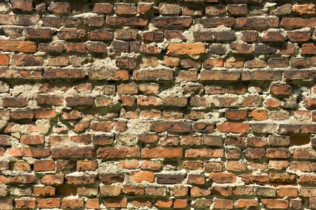 Old brick wall background. Stock Photo - 429939