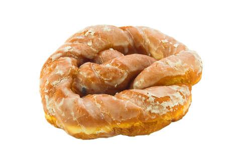 Donut isolated over white background. photo