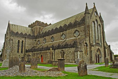 13th: 13th century cathedral of St Canice, Ireland.
