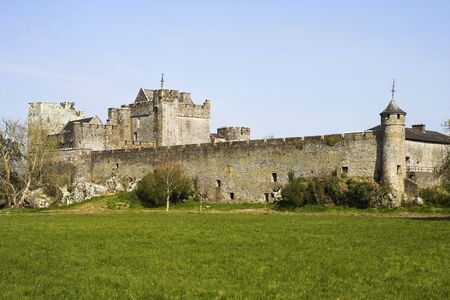 county tipperary: Cahir castle, situated on an island on the river Suir in county Tipperary, Ireland.