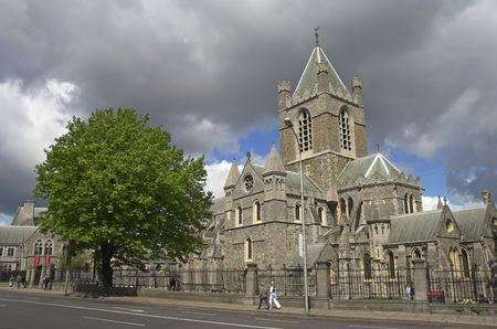 The Cathedral of the Most Holy Trinity, Dublin, Ireland. Stock Photo - 1104402