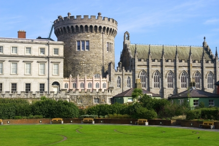 Dublin Castle in Dublin, Ireland. photo