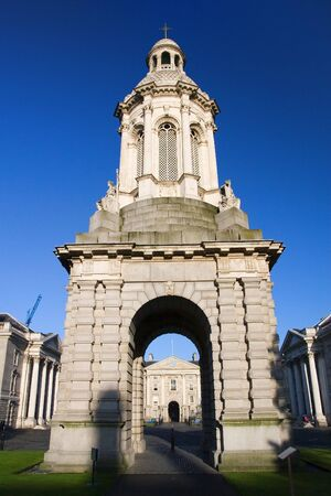 Trinity College in Dublin, Ireland. Stock Photo - 3066036