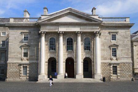 The Chapel in Dublin University. Stock Photo - 3066044