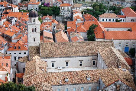 franciscan: Franciscan monastery in the Dubrovnik Old City, Croatia Stock Photo
