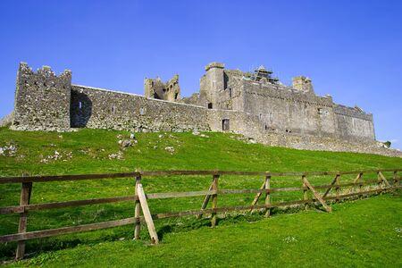 county tipperary: Rock of Cashel (Irish: Carraig Phádraig) medieval ruins, county Tipperary, Ireland Stock Photo
