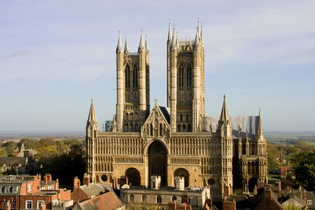Lincoln Cathedral (also known as The Cathedral Church of the Blessed Virgin Mary of Lincoln) in Lincoln, England photo