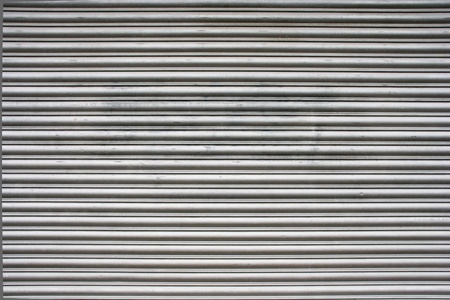 Steel garage door texture or background 写真素材