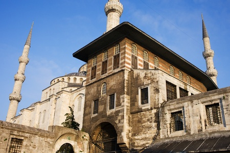Ottoman architecture in Sultanahmet historic district, Istanbul, Turkey Stock Photo - 10844769