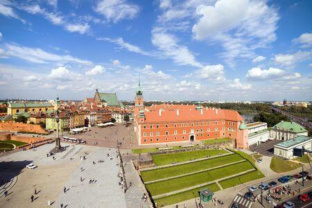stare miasto: Royal Castle in Old Town (Polish: Stare Miasto, Starowka) of Warsaw, Poland