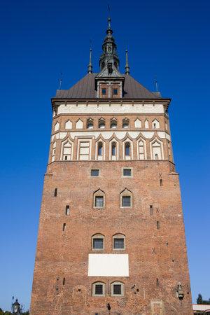 The Prison Tower historic landmark in Gdansk (Danzig), Poland Stock Photo - 10912517