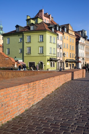 Historic architecture of the Old Town (Polish: Stare Miasto, Starowka) in Warsaw, Poland Stock Photo - 11305115