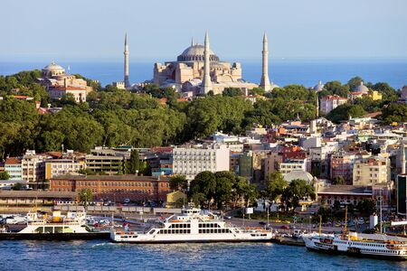 City of Istanbul picturesque scenery in Turkey Stock Photo - 11884221