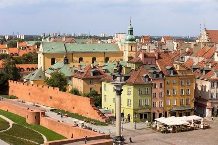 stare miasto: Old Town (Polish: Stare Miasto, Starowka) historic architecture in the city of Warsaw, Poland