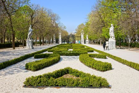 Spring at the Buen Retiro Park in Madrid, Spain photo