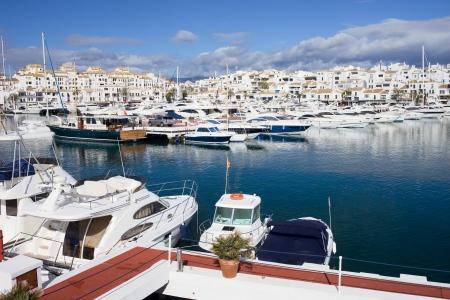 Marina in Puerto Banus near Marbella on Costa del Sol, Andalucia, southern Spain. Stock Photo - 13812980