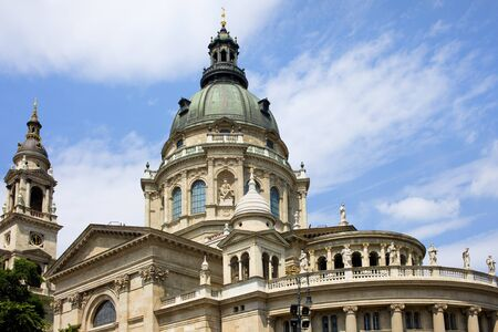 architectural style: St. Stephens Basilica in Budapest, Hungary, Neo-Classical architectural style. Stock Photo