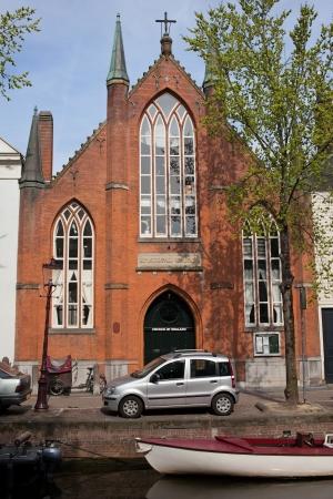 episcopal: Christ Church (Church of England, Episcopal Church) in Amsterdam City Centre, Holland.