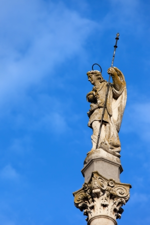 san rafael: Triumph of Saint Rafael (Spanish:Triunfo de San Rafael), historic 18th century monument in the city of Cordoba, Spain, Andalusia region
