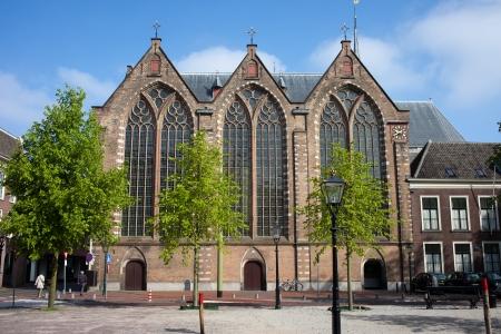 den: Kloosterkerk (Cloister Church) in The Hague (Den Haag), Holland, Netherlands. Stock Photo