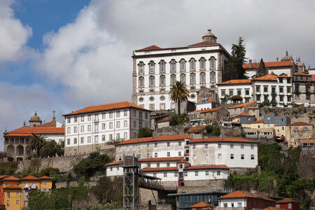 episcopal: Episcopal Palace in the Old City of Porto in Portugal.