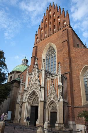 Church Of The Holy Trinity and Dominican Monastery in Krakow, Poland. photo