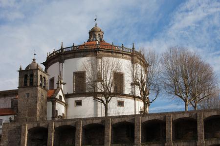 niches: Serra do Pilar monastery in Vila Nova de Gaia, Portugal. Stock Photo