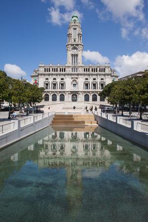 Porto City Hall in Portugal. photo