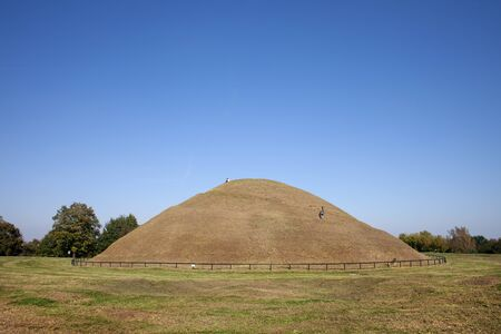 burial: Poland, Krakow, Mound of Krak or Krakus Mound (Polish: Kopiec Krakusa, Kraka), an ancient, mysterious prehistoric man-made hill.