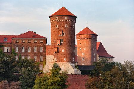 krakow: Wawel Royal Castle in Krakow, Poland.