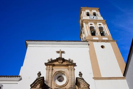 incarnation: Church Of Incarnation in Marbella, Spain, Baroque style architecture.