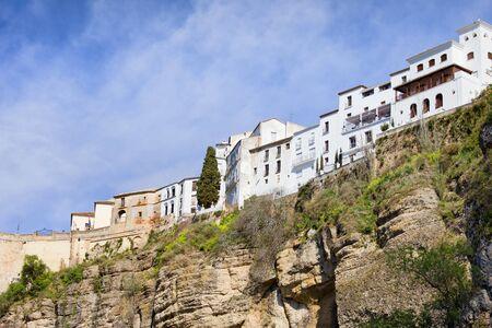 blanco: Spain, Andalusia, Malaga province, Ronda, Pueblo Blanco - White Town