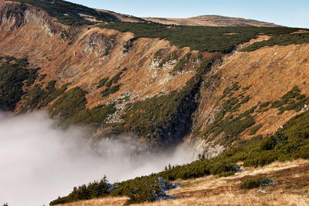 Karkonosze Mountains landscape, Sudetes, Poland