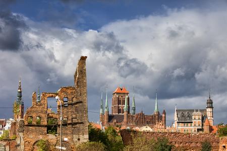 gdansk: Poland, city of Gdansk, Old Town skyline