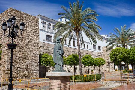 historical monument: Church Square - Plaza de la Iglesia in the Old Town of Marbella, Spain, Andalusia region