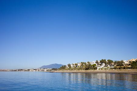 'costa del sol': Spain, Andalusia, Costa del Sol, Marbella city skyline