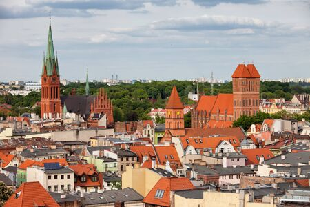 torun: City of Torun in Poland, cityscape, skyline Stock Photo