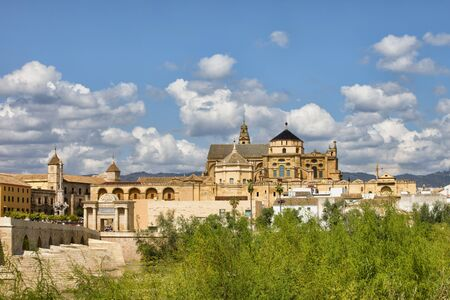 religious building: Spain, Andalusia, Cordoba, Mezquita Mosque Cathedral, Old Town, historic city centre Stock Photo