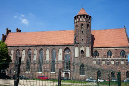 14th century: St. Nicholas Church in Gdansk, Poland, 14th century Stock Photo