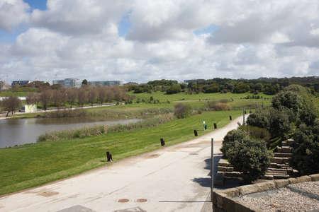 parque: Parque da Cidade, city park in Porto, Portugal