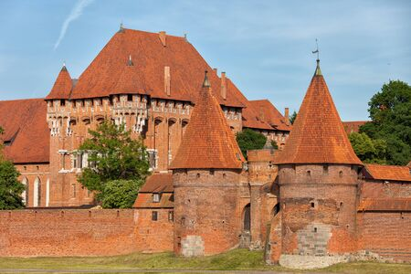 teutonic: Poland, Malbork Castle, medieval fortress built by the Teutonic Knights Order Editorial