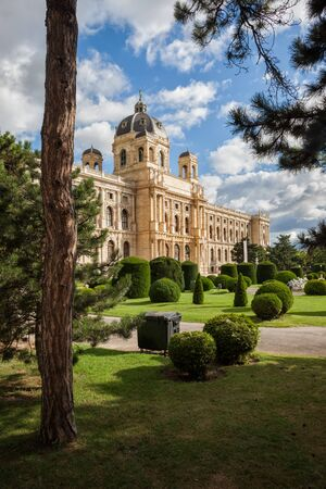 Museum of Natural History Vienna (Naturhistorisches Museum Wien), 19th century palace in city of Vienna, Austria
